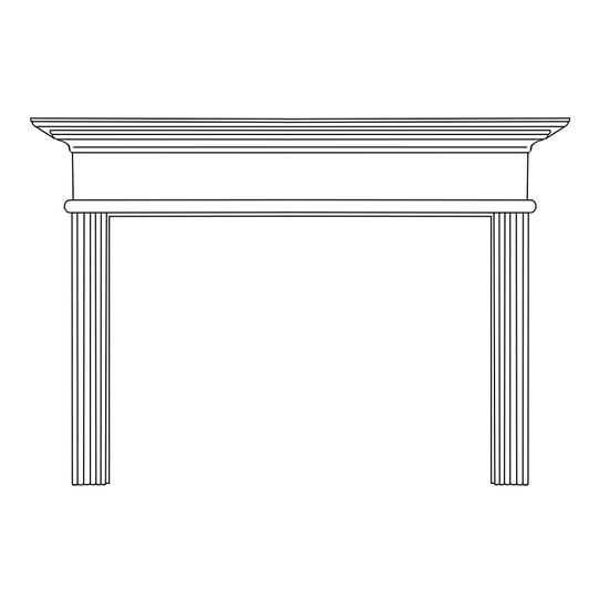 Cornelius Fireplace Wood Mantel