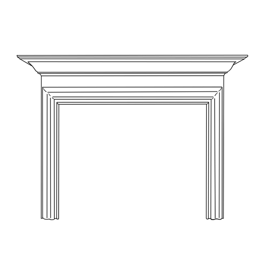 Dawson Fireplace Wood Mantel