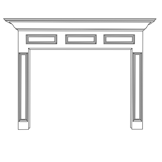 Donnelly Fireplace Wood Mantel