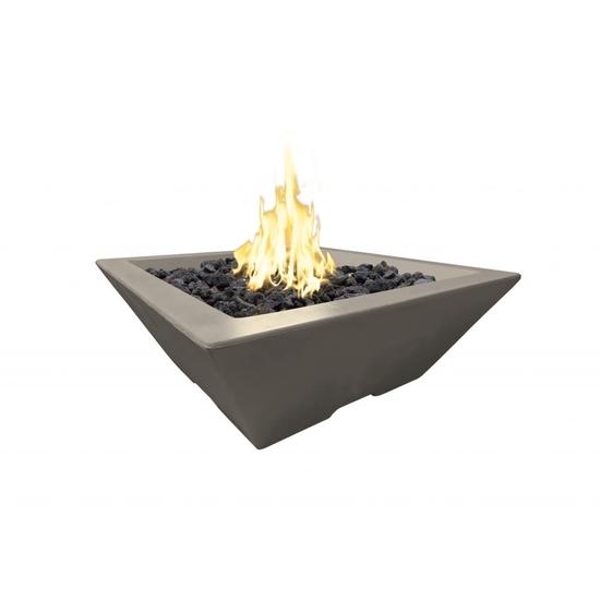 30 Inch Lyon Petite Square Pyramid Fire Bowl