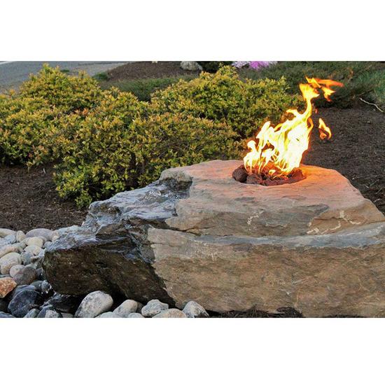 Boulder Fountain Kit - Fire & Water