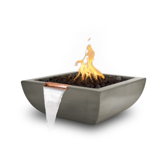 Avalon Concrete Fire and Water Bowl