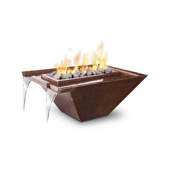 Nile Copper Fire and Water Bowl