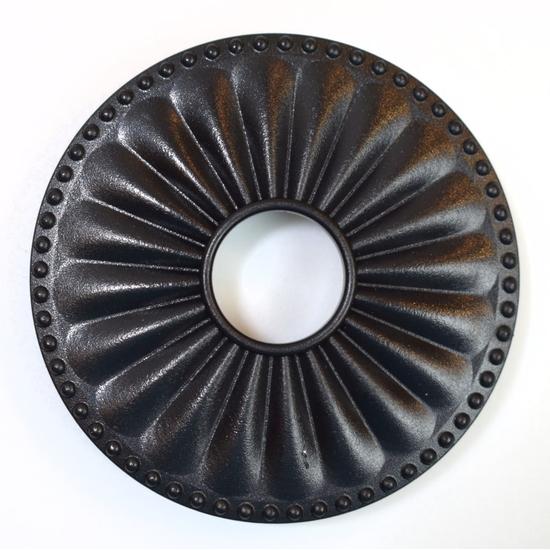 Magnetic Non-Metal Flat Black Flange Cover - Laguna Design