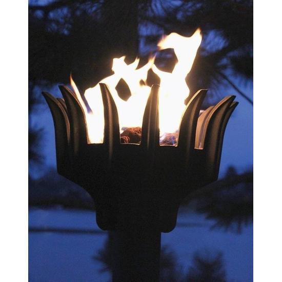 Liberty Tiki Torch in Use