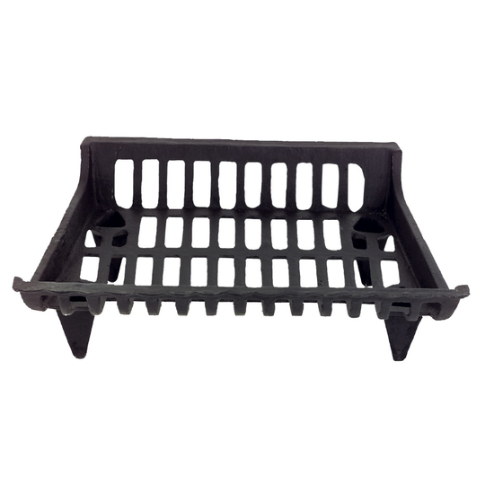 Cast Iron Basket Grate With Ends 24 Inch