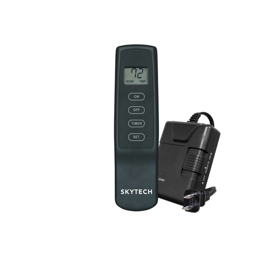 Skytech 110V Operated On/OFF LCD Fireplace Remote Kit