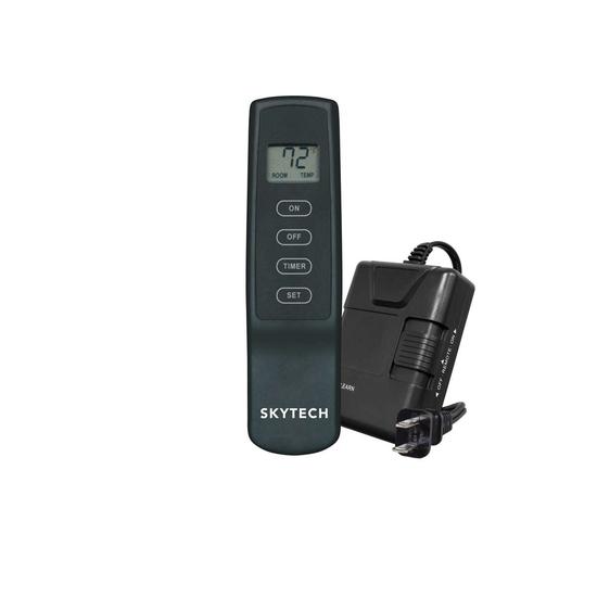 Skytech 110V Operated On/OFF LCD Fireplace Remote Kit
