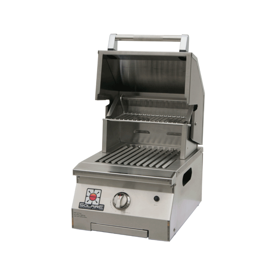 Solaire Built In Propane Grill 15 Inch