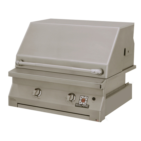 Solaire Built In Gas Grill 30 Inch