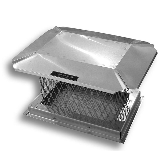 Square Stainless Steel Chimney Cap