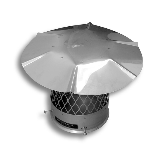 Round Stainless Steel Chimney Cap
