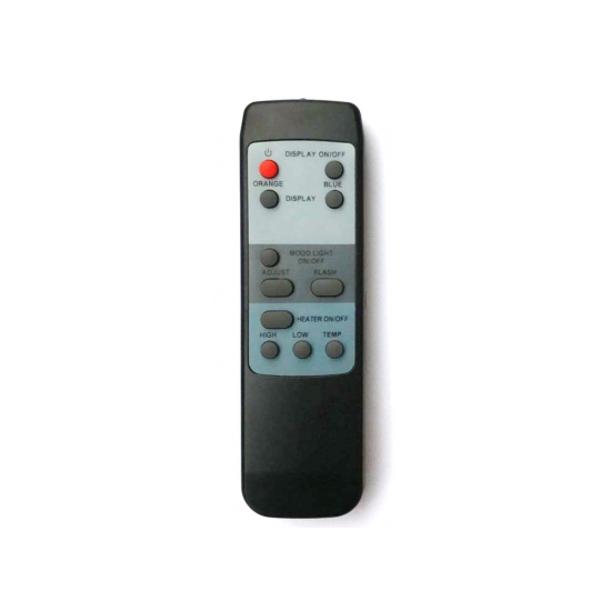 R58 Remote Control For Heat And Flame Height