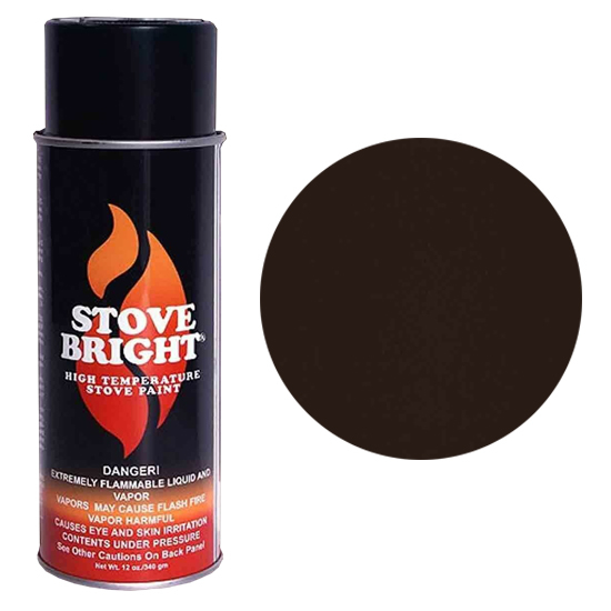 Bark Brown High Temperature Stove Spray Paint