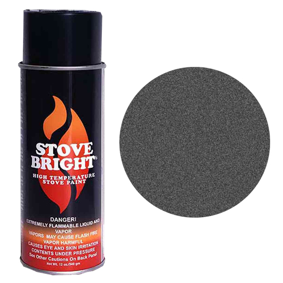 Charcoal High Temperature Stove Spray Paint
