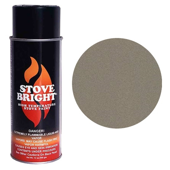 Metallic Brown Stove Bright Spray Can