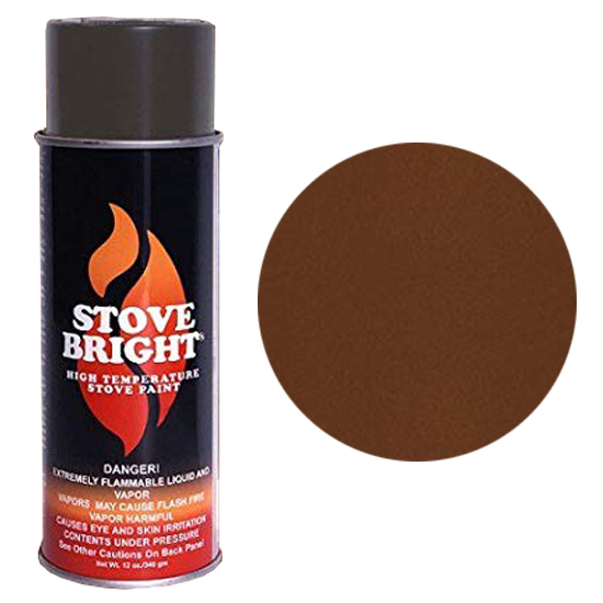 Russet High Temperature Stove Spray Paint