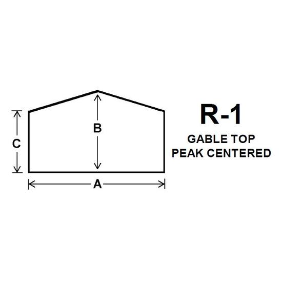 Pyroceram Glass R1 Specialty Shape Cut