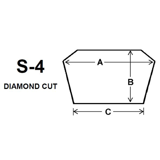 Pyroceram Glass S4 Specialty Shape Cut