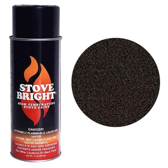 Metallic Rich Brown Stove Bright Spray Can