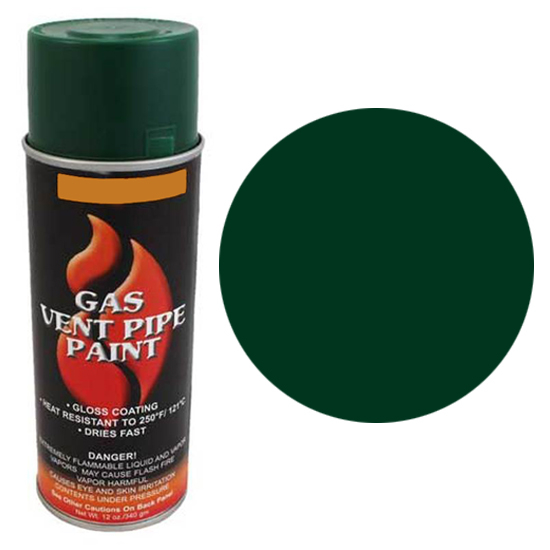 Green Gas Vent Pipe Spray Can
