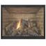Yukon ZC Fireplace Door - Matte Black - Cabinet Doors