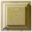 """24"""" Star Urethane Ceiling Tile Rear View"""