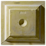 """24"""" Colonial Urethane Ceiling Tile Rear View"""
