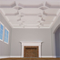 """8"""" Deluxe Inner Diamond Intersection Coffered Ceiling System"""