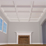 "8"" Deluxe Inner Cross Intersection Coffered Ceiling System"