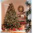 "4-6.5""H Full 56""W Hawthorne Prelit Tree Warm White LED 500"