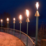 Commercial Grade Copper cone automated tiki torch kit