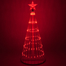 Animated Outdoor Lightshow Tree Red LED
