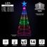 Lightshow Tree Badge Graphic Multicolor