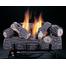 Reversible Front Log of the Original Chillbuster Single Burner Ventless Gas Log Set