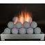 24 inch Alterna FireBalls Ventless Fireplace Gas Set from Rasmussen Gas Logs