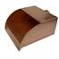 8 Inch Wide Copper Radius Scupper