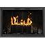 Cameo Masonry Fireplace Door shown in Black