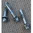Fireplace door suspension bar hardware