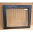 Black Pioneer Fireplace Glass Door Black