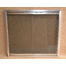 Rainbow Fireplace Door Satin Nickel
