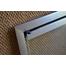Rainbow Door In Satin Nickel Corner Detail