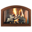 Heritage Full Arch Masonry Fireplace Door in Old Copper Finish