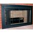 Classic Fireplace Door in Flat Black