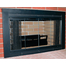 Classic Masonry Fireplace Door in Painted Flat Black