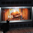 Amargosa Fireplace Door - customer ordered separate fireplace curtain mesh