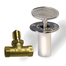 The Dante Universal Gas Key design fits both 1/4″ and 5/16″ gas valve stems