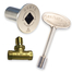 Pewter Shut Off Valve Kit For Log Lighters