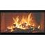 Norwegian Zero Clearance Fireplace Door in Black