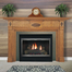 The Essex fireplace mantel with a custom finish made by a homeowner.